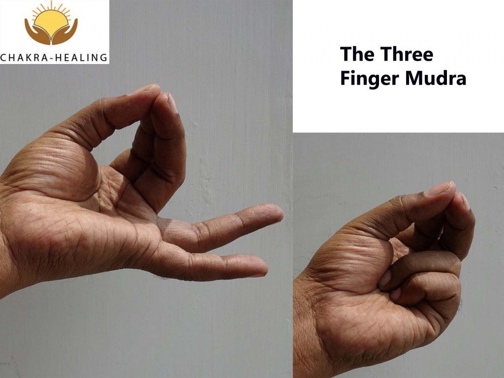 three finger mudra-1